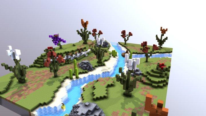 Practice Map 3D Model