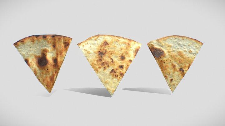 Tortilla x3 Pack / Low-poly / High-Res 3D Model