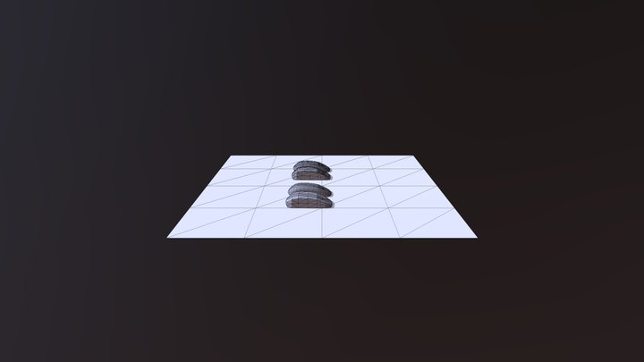 Computer Mouse Low Poly(4Models) 3D Model