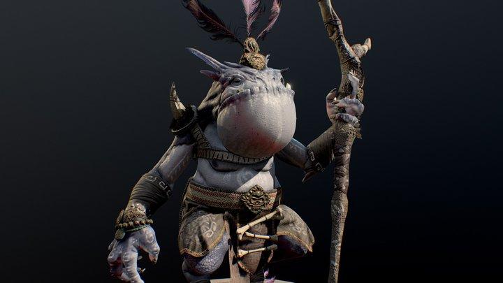Moki 3D Model