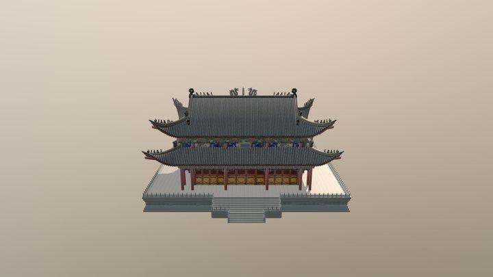 Mahavira Hall 3D Model