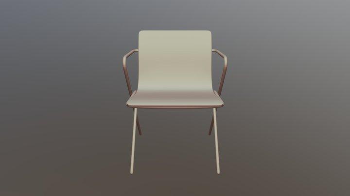 Perluette Chair 3D Model