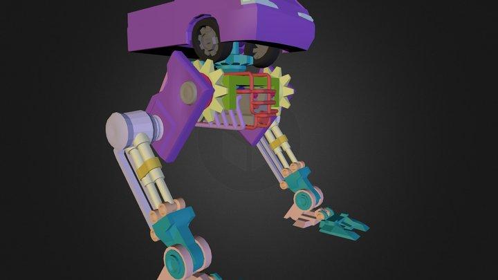 Steammech 3D Model