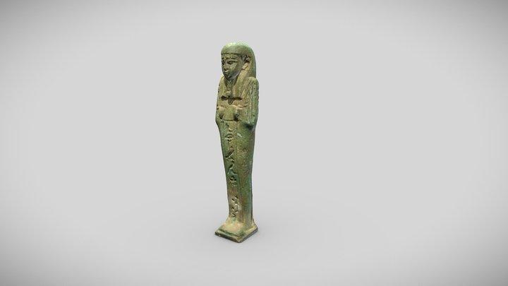 Oushebti de Harmakhis, 84.9.117 3D Model