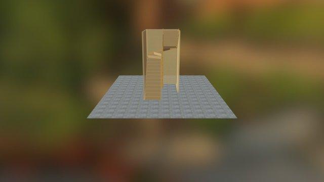 Stair A04 3D Model