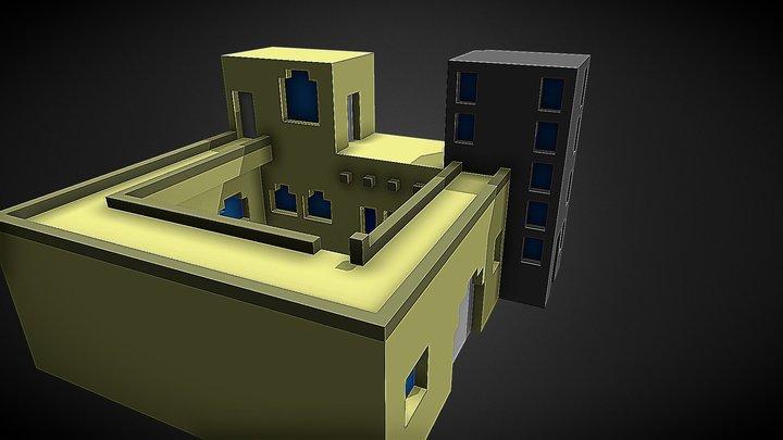 Mardin Geleneksel Ev 3D Model