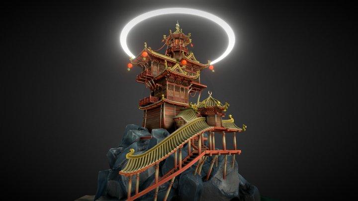 Magical Lighthouse 3D Model