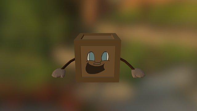 Tiny Box Tim 3D Model