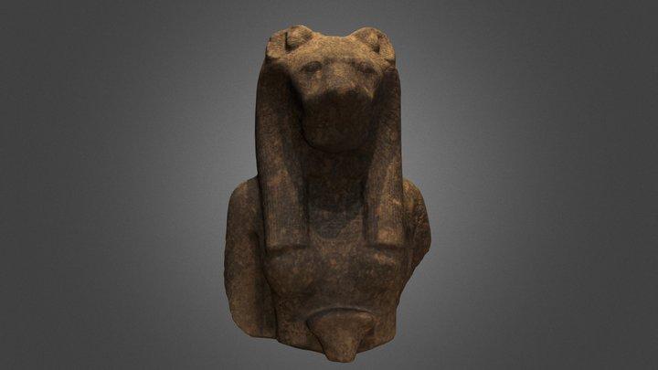 Bust of the Goddess Sekhmet 3D Model