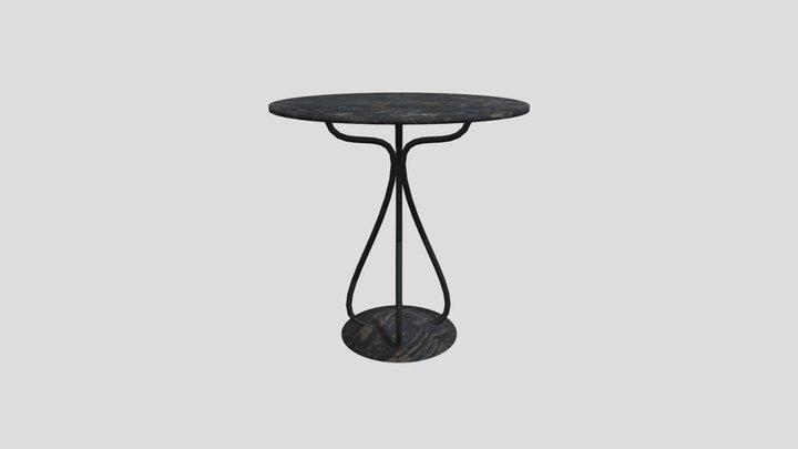 Diner Table 3D Model