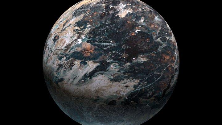 Planet Reststop 3D Model