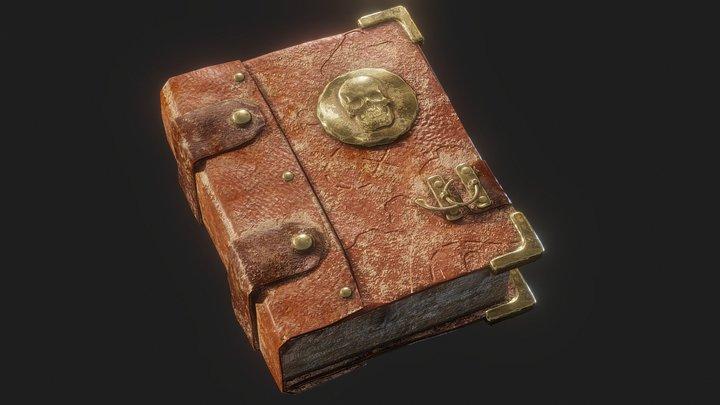 Pirate Book 3D Model