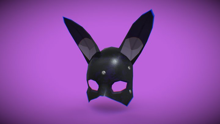 Bunny mask 3D Model