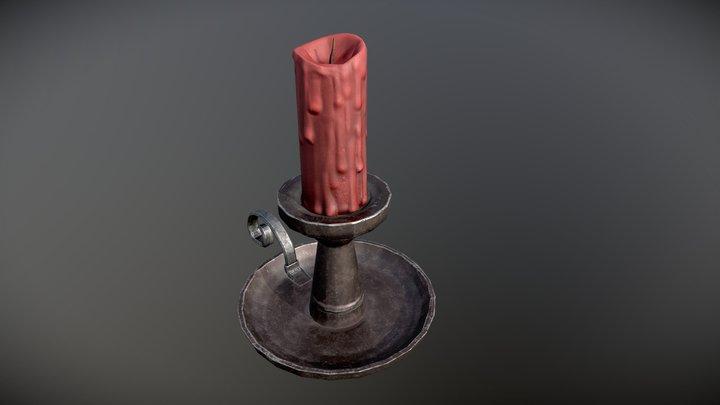Свечка 3D Model