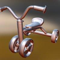 children's bikes SENSE scan 3D Model