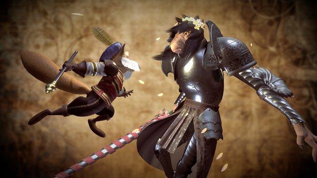 Duel! 3D Model