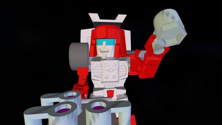 MiniBot: Bartender 3D Model