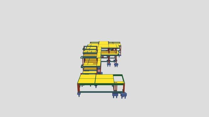 Estrutura 3D - LEONARDO DIAS 2019 3D Model