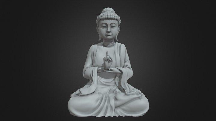 Budha Print 3D Model