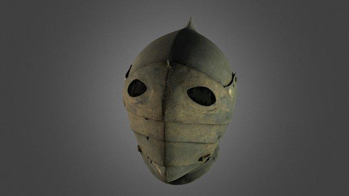 Armor helmet / jazdecka prilba 3D Model