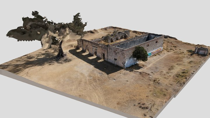 Ex Hacienda La Blanca 3D Model