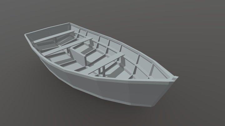 Mod Bote 001 3D Model