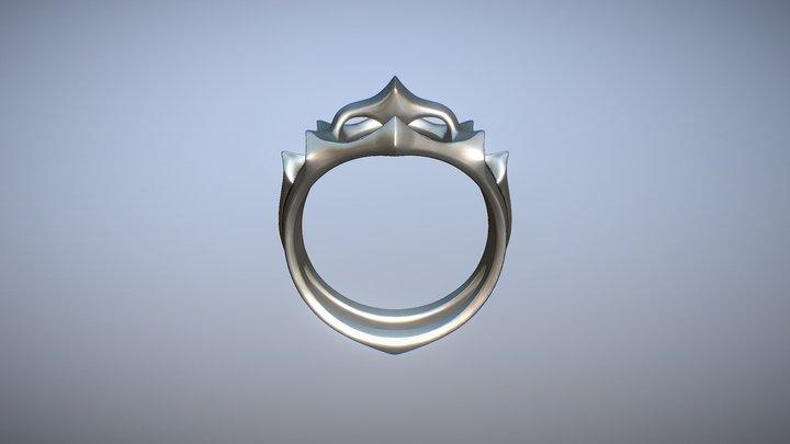 Instant Karma Ring 3D Model