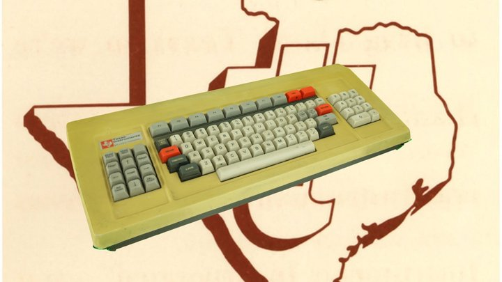 Texas Instruments TI 911 Keyboard 3D Model