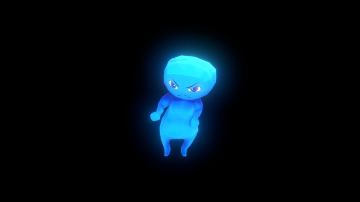 Blue Boy 3D Model