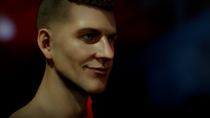 Marcus - head 3D Model