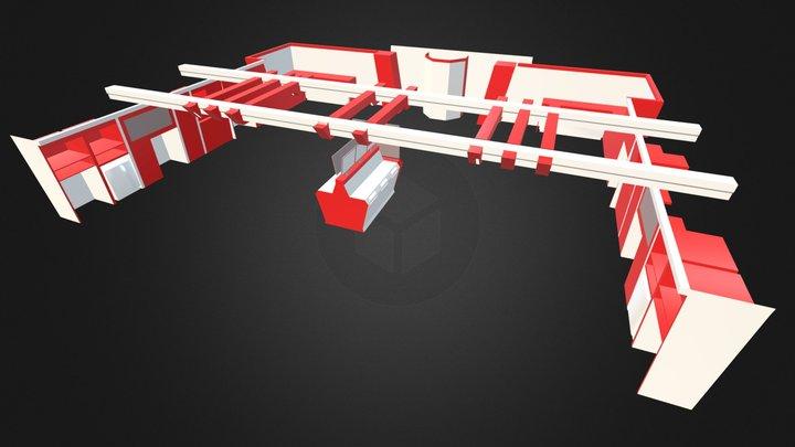Ferrari 2013/14 layout 3D Model