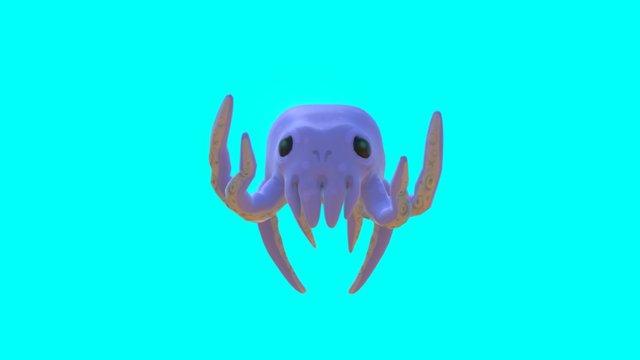Kraken Pup 3D Model