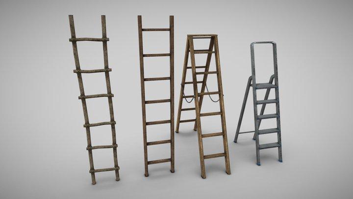 Ladder Collection 3D Model