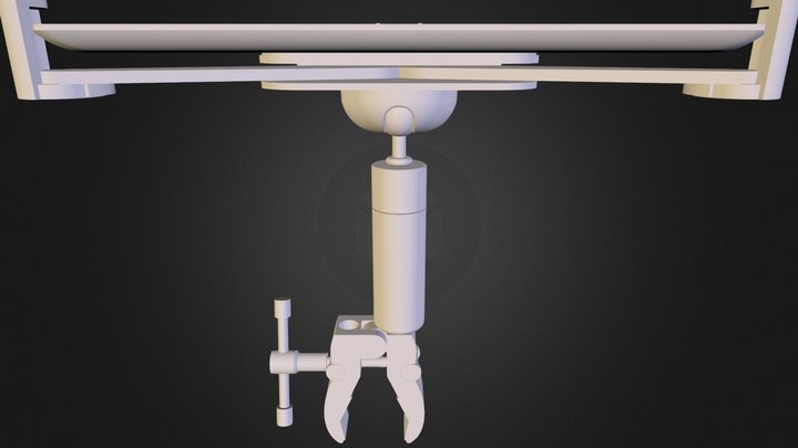 My Stand ipad Tablet Clamp Mount 3D Model