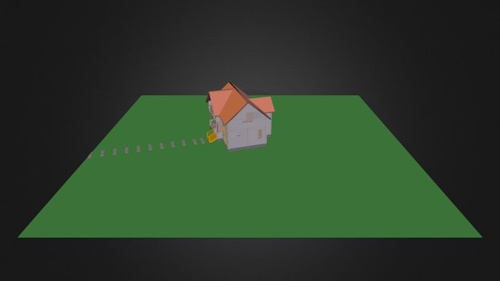 Casa Madera 3 3D Model