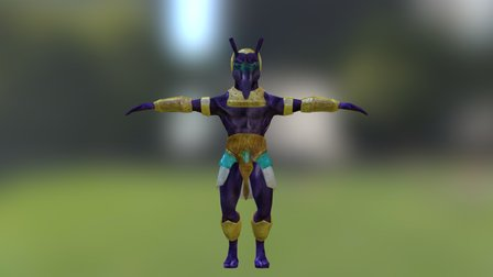 Sethia 3D Model