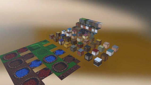 Milessanguinetti mock up tiles 3D Model