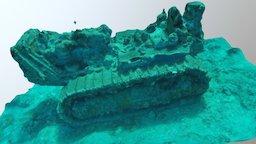 Seabee Dozer 3D Model