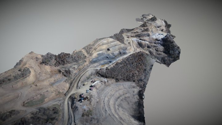 Kicevo - Ohrid Highway - Earthworks 3D Model