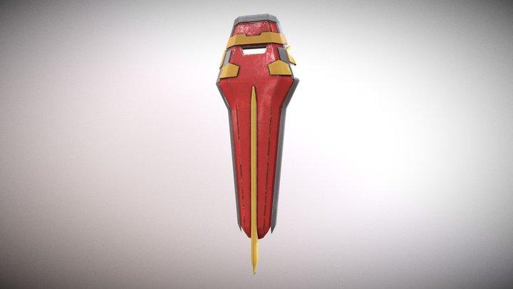 GAT-X105 Strike Gundam Shield 3D Model