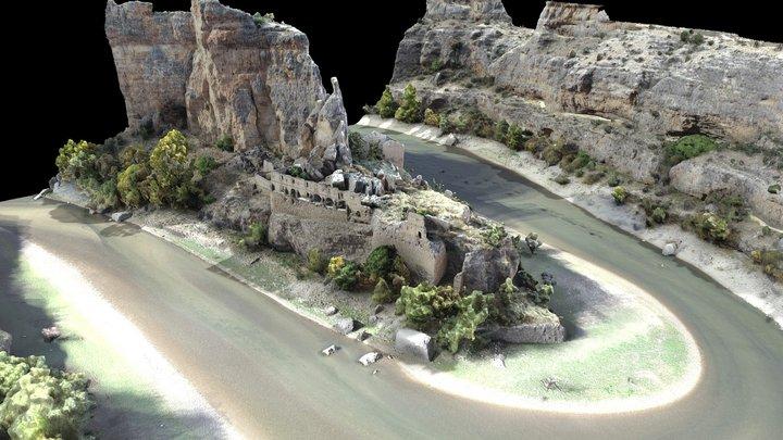 Convent Nuestra Señora de los Ángeles de la Hoz 3D Model