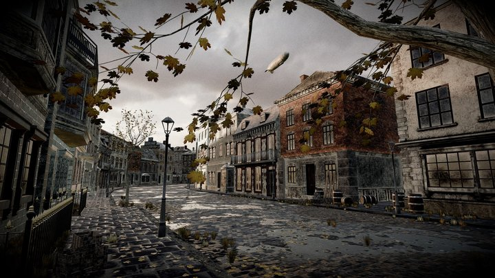 After the rain... - VR & Sound 3D Model