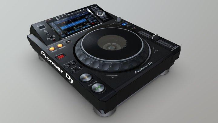 XDJ-1000 MK2 3D Model