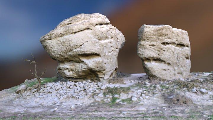 Stone giants 3D Model