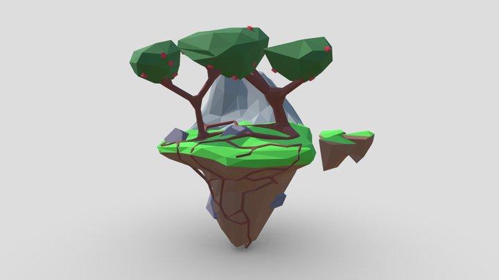 Flying Island 2 3D Model