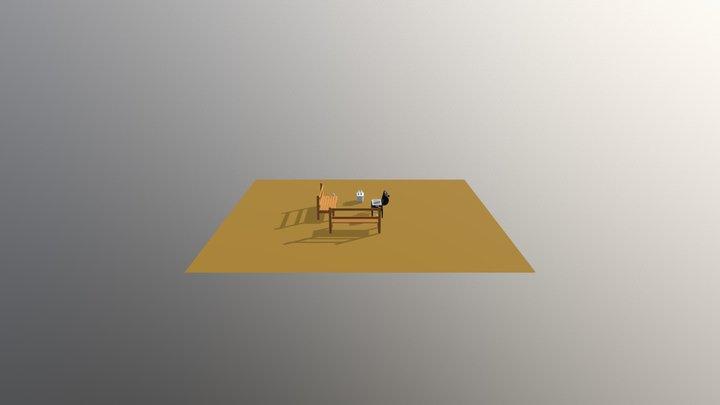 Parrilla 3D Model
