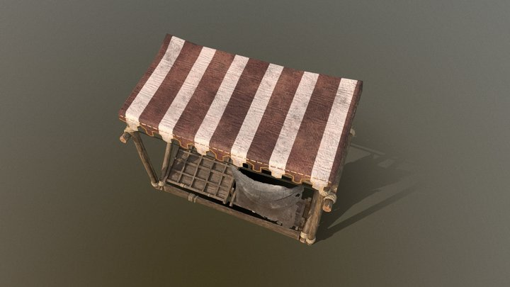 Medieval shop from Divinity 2 3D Model