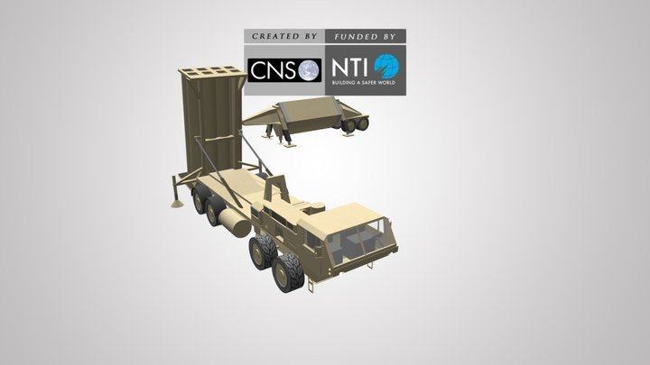 Terminal High Altitude Area Defense (THAAD) 3D Model