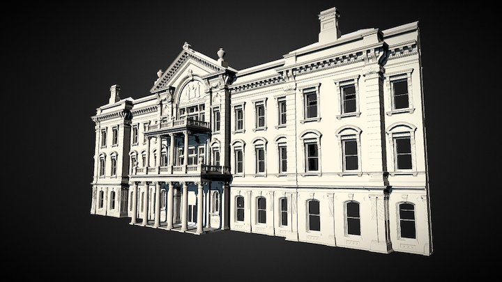 New Jersey State House 3D Model