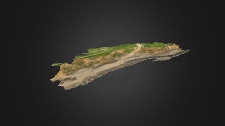 Happisburgh Coastline 3D Model